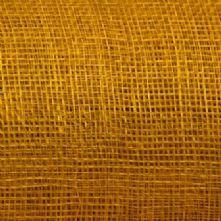 Mustard Yellow Sinamay